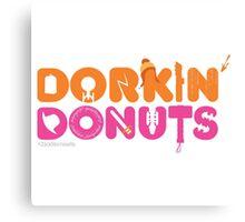 Dorkin' Donuts Canvas Print