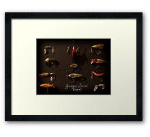 Grandpa's Secret Weapons Framed Print