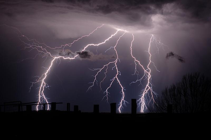 Lightning Bolts by Michael Bath