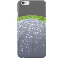 Mushroom with snow iPhone Case/Skin