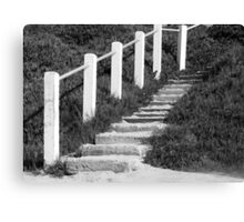Sandy Steps... Going Up?? Canvas Print