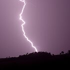 McLeans Ridges Lightning  by Michael Bath