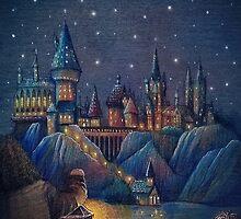 Hogwarts Fairytale by illustore