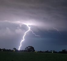 Severe Thunderstorm and Lightning by Michael Bath