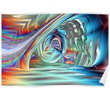 Chasing Rainbows - Light Bender Poster