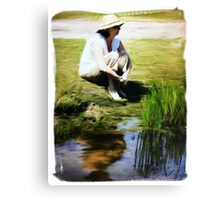 Painter Oil Canvas Print