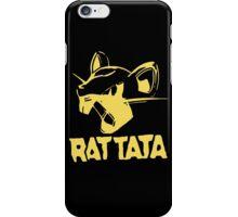 RAT TATA - RATATAT Music Band Mashup iPhone Case/Skin