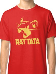 RAT TATA - RATATAT Music Band Mashup Classic T-Shirt