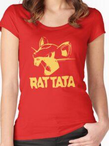 RAT TATA - RATATAT Music Band Mashup Women's Fitted Scoop T-Shirt