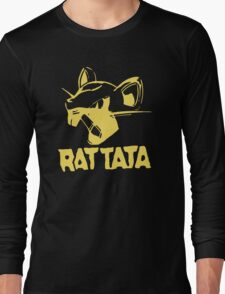 RAT TATA - RATATAT Music Band Mashup Long Sleeve T-Shirt