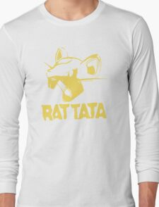 RAT TATA - RATATAT Music Band Mashup Long Sleeve T-Shirt
