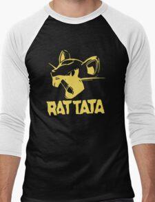 RAT TATA - RATATAT Music Band Mashup Men's Baseball ¾ T-Shirt