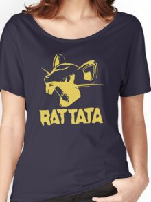 RAT TATA - RATATAT Music Band Mashup Women's Relaxed Fit T-Shirt
