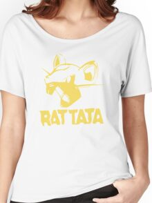 RAT TATA - RATATAT Music Band Mashup Women's Relaxed Fit T-Shirt