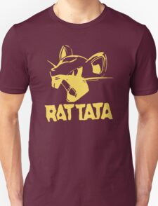 RAT TATA - RATATAT Music Band Mashup Unisex T-Shirt