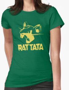 RAT TATA - RATATAT Music Band Mashup Womens Fitted T-Shirt
