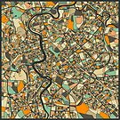 ROME MAP by JazzberryBlue