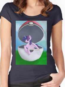 I Choose You, Twilight Women's Fitted Scoop T-Shirt