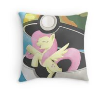 I Choose You, Fluttershy! Throw Pillow