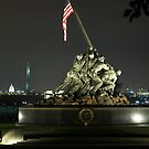 Iwo Jima at Night by Lida Verner