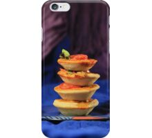 Tower of mini vegetables tarts  iPhone Case/Skin