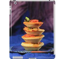 Tower of mini vegetables tarts  iPad Case/Skin