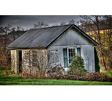 Old Wood Shed Photographic Print