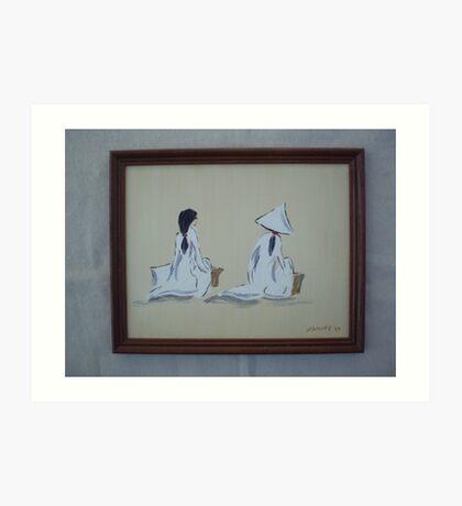 Viet Nam Women Art Print
