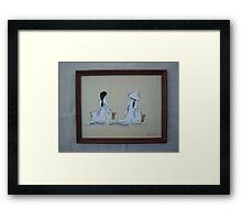 Viet Nam Women Framed Print