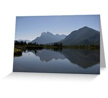 Mount Rundle Greeting Card