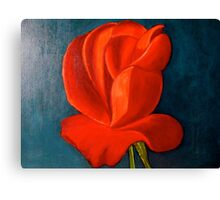 Not a rose garden  Canvas Print