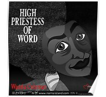 HIGH PRIESTESS OF WORD Poster