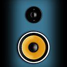 Speaker Phone Blue by Ra12