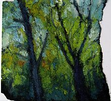 Rock Creek Trees by Marcie Wolf-Hubbard