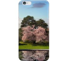 Cherry Tree Reflections iPhone Case/Skin