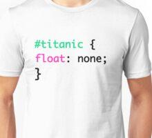 Titanic + HTML = Punny Unisex T-Shirt