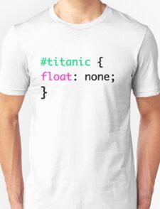 Titanic + HTML = Punny T-Shirt