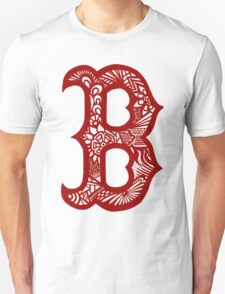 Boston_RedSox_Red Unisex T-Shirt