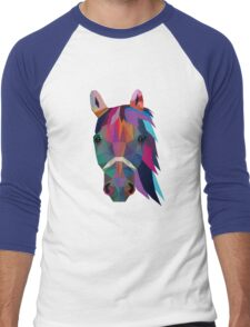 horse Men's Baseball ¾ T-Shirt