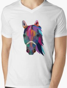 horse Mens V-Neck T-Shirt