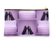Black High Heel Shoes Studio Pouch
