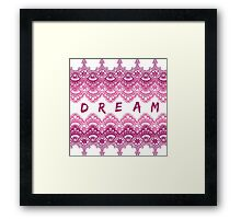 Lace Dream Framed Print