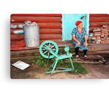 Russian Yarn Canvas Print