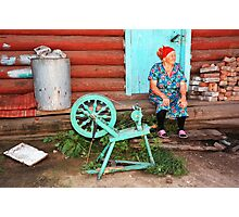 Russian Yarn Photographic Print
