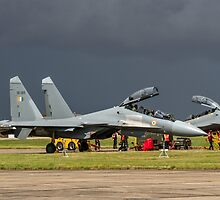 "Sukhoi Su-30MKI ""Flanker-F"" SB065 ready to rumble by Colin Smedley"
