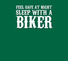 Sleep With A Biker And Ride All Night Unisex T-Shirt