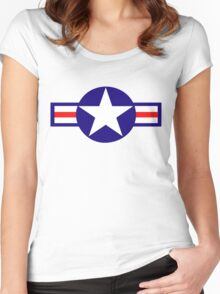 Aviation - US Army - Cool Star Women's Fitted Scoop T-Shirt