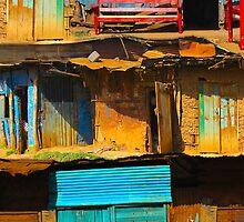 Vintage street in Nairobi, KENYA by Atanas Bozhikov NASKO