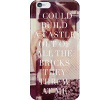 Taylor Swift New Romantics Polaroid Quote  iPhone Case/Skin