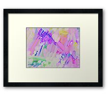 Brighter Days Abstract Framed Print